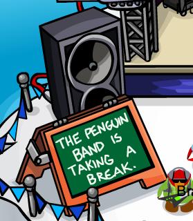 Club Penguin Band on Break