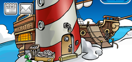 Club Penguin Rockhopper Migrator