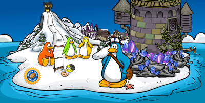 Club Penguin Medieval Home Page