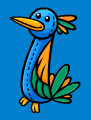 Club Penguin Tropical Bird